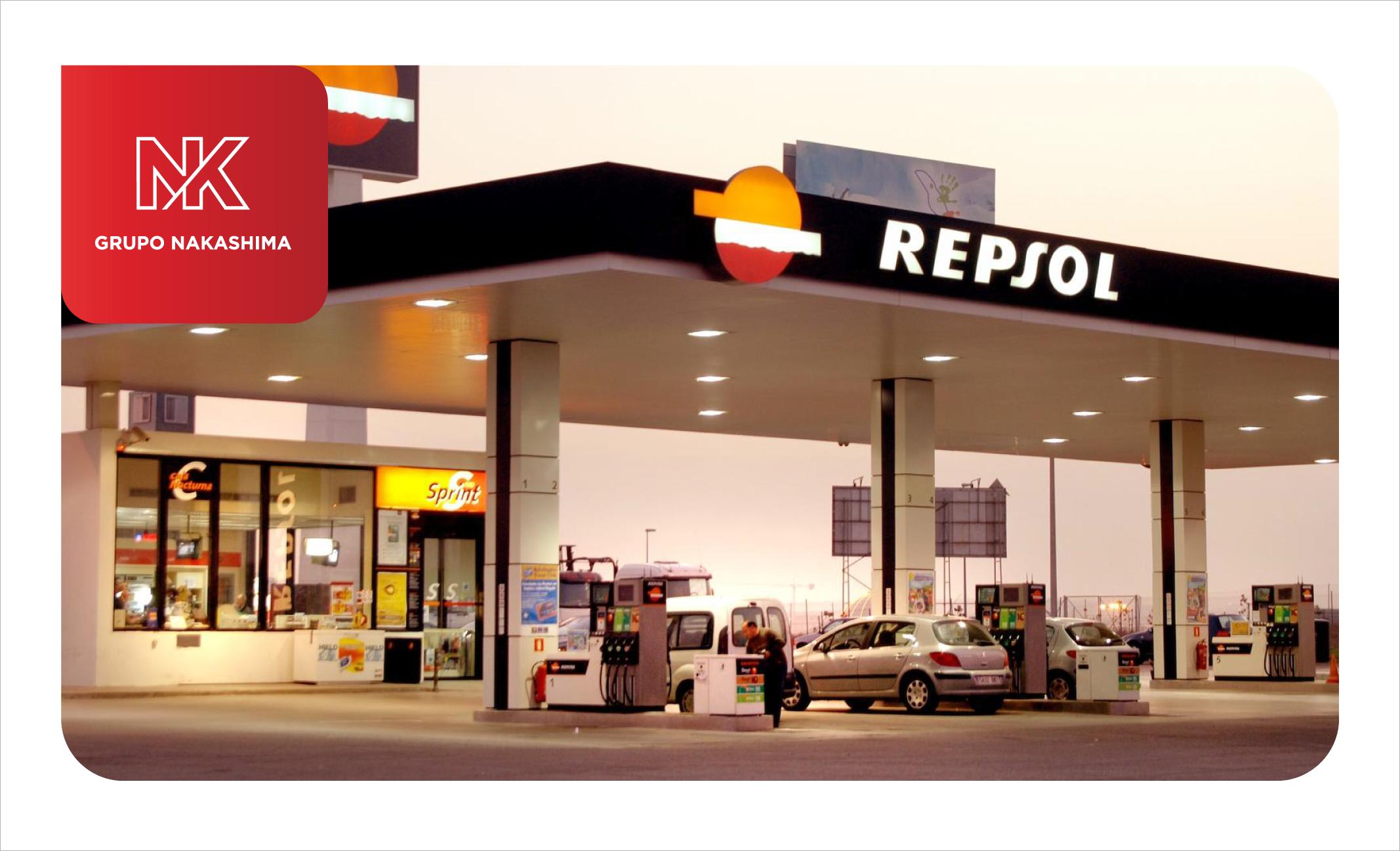 Sistema contra incendios para gasolinera